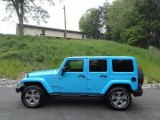 2017 Chief Blue Jeep Wrangler Unlimited Sahara 4x4 #120125473