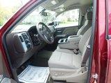 2017 Chevrolet Silverado 1500 LT Double Cab 4x4 Cocoa/Dune Interior