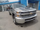 2017 Pepperdust Metallic Chevrolet Silverado 2500HD Work Truck Crew Cab 4x4 #120125591