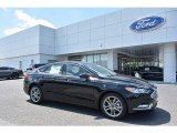 2017 Shadow Black Ford Fusion S #120125684