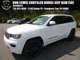 2017 Bright White Jeep Grand Cherokee Laredo 4x4 #120125624
