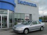 2002 Satin Silver Metallic Honda Accord EX V6 Sedan #11977861