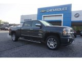 2017 Graphite Metallic Chevrolet Silverado 1500 High Country Crew Cab 4x4 #120155404