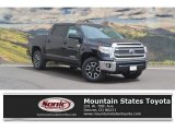 2017 Midnight Black Metallic Toyota Tundra SR5 CrewMax 4x4 #120155195