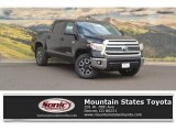 2017 Midnight Black Metallic Toyota Tundra SR5 CrewMax 4x4 #120155194