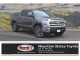 2017 Magnetic Gray Metallic Toyota Tundra SR5 CrewMax 4x4 #120155192