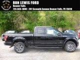 2017 Shadow Black Ford F150 XLT SuperCab 4x4 #120155230