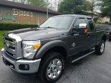 2015 Magnetic Ford F250 Super Duty Lariat Super Cab 4x4 #120155489