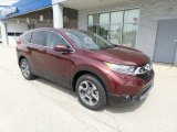 2017 Basque Red Pearl II Honda CR-V EX AWD #120180995
