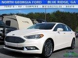 2017 White Platinum Ford Fusion SE #120180944