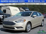 2017 White Gold Ford Fusion S #120180943