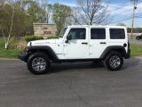 2016 Bright White Jeep Wrangler Unlimited Rubicon 4x4 #120201543