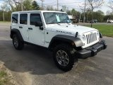 2016 Jeep Wrangler Unlimited Rubicon 4x4 Front 3/4 View