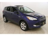 2014 Deep Impact Blue Ford Escape SE 1.6L EcoBoost 4WD #120201615
