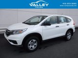 2015 White Diamond Pearl Honda CR-V LX AWD #120201387