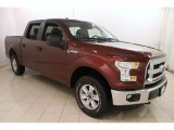 2016 Ford F150 XLT SuperCrew 4x4 Front 3/4 View