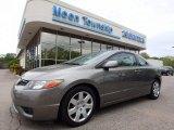 2006 Galaxy Gray Metallic Honda Civic LX Coupe #120201532