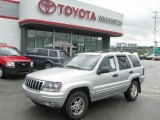 2002 Bright Silver Metallic Jeep Grand Cherokee Laredo 4x4 #11977860