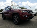 2017 Velvet Red Pearl Jeep Grand Cherokee Limited 4x4 #120201393
