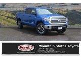 2017 Blazing Blue Pearl Toyota Tundra SR5 CrewMax 4x4 #120217583