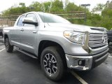 2017 Silver Sky Metallic Toyota Tundra Limited Double Cab 4x4 #120217888