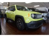 2017 Hypergreen Jeep Renegade Sport #120217705