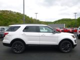2017 Oxford White Ford Explorer XLT 4WD #120240733