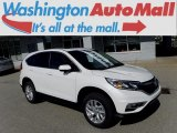 2015 White Diamond Pearl Honda CR-V EX AWD #120240599