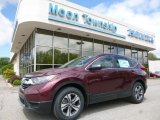 2017 Basque Red Pearl II Honda CR-V LX AWD #120240721