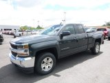 2017 Graphite Metallic Chevrolet Silverado 1500 LT Double Cab 4x4 #120240710