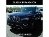 2017 Diamond Black Crystal Pearl Jeep Grand Cherokee Limited 4x4 #120240818