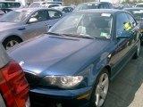 2004 Orient Blue Metallic BMW 3 Series 325i Coupe #120240700