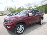 2017 Velvet Red Pearl Jeep Grand Cherokee Limited 4x4 #120240735