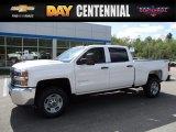2017 Summit White Chevrolet Silverado 2500HD Work Truck Crew Cab 4x4 #120240564