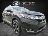 2017 Dark Olive Metallic Honda CR-V Touring AWD #120240554