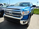 2017 Blazing Blue Pearl Toyota Tundra SR5 Double Cab 4x4 #120264443