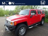 2009 Victory Red Hummer H3  #120264357