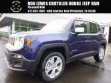 2017 Jetset Blue Jeep Renegade Limited 4x4 #120264420