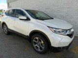 2017 White Diamond Pearl Honda CR-V EX-L AWD #120264304