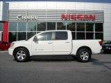 2007 White Nissan Titan SE Crew Cab #11983914