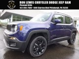 2017 Jetset Blue Jeep Renegade Altitude 4x4 #120264419