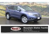 2012 Twilight Blue Metallic Honda CR-V EX #120264216