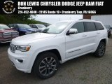 2017 Bright White Jeep Grand Cherokee Overland 4x4 #120264289