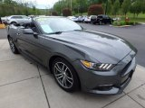 2017 Ford Mustang EcoBoost Premium Convertible Front 3/4 View