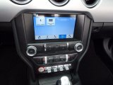 2017 Ford Mustang EcoBoost Premium Convertible Controls