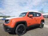 2017 Omaha Orange Jeep Renegade Altitude 4x4 #120285796