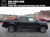 2017 Shadow Black Ford F150 XLT SuperCrew 4x4 #120285714