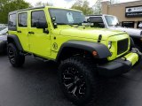 2017 Hypergreen Jeep Wrangler Unlimited Sport 4x4 #120285875