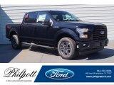 2017 Shadow Black Ford F150 XLT SuperCrew 4x4 #120317702