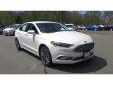 2017 White Platinum Ford Fusion SE AWD #120317722